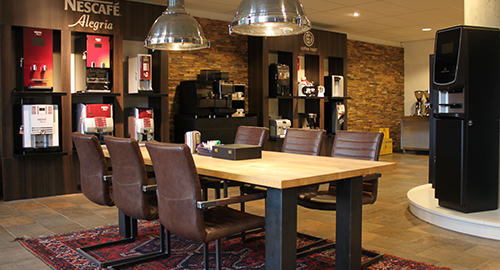 Vernieuwde Coffee Fresh showroom in Drempt