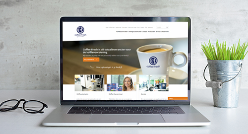 Website Coffee Fresh
