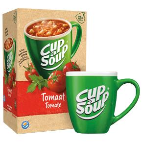 Betere Tijdelijk 6 gratis Cup-a-Soup mokken | Coffee Fresh JD-75