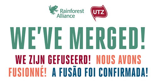 Fusie tussen Rainforest Alliance en UTZ
